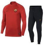nike as roma trainingspak rood