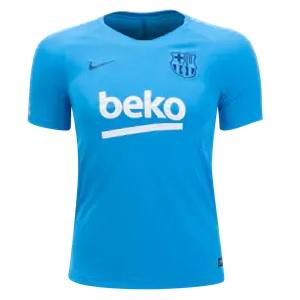 barcelona trainingsshirt blauw 2019-2020