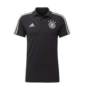 caa92e4ea9d Duitsland Poloshirt Zwart 2019-2020 | adidas Kleding ...