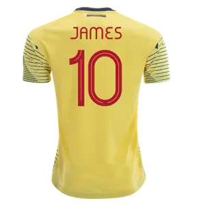 colombia james thuisshirt 2019-2020