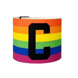 aanvoerdersband regenboog