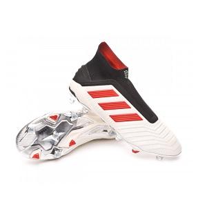 pogba voetbalschoenen wit rood