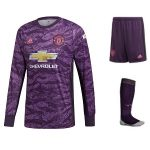 manchester united tenue keeper paars 2019-2020