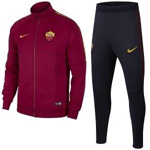 Nike AS Roma Trainingspak Rood Zwart I96 2019 2020