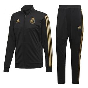 adidas real madrid zwart goud trainingspak 2019-2020
