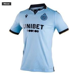 club brugge lichtblauw 3de shirt 2019-20