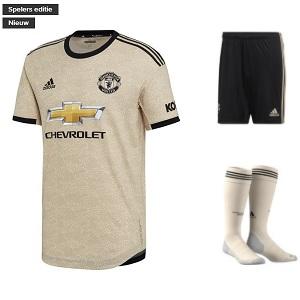 manchester united tenue uit bruin 2019-2020