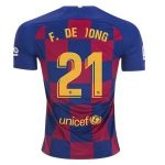 fc barcelona frenkie de jong shirt 2019-2020