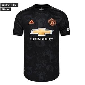 manchester united 3e shirt zwart kids 2019-2020