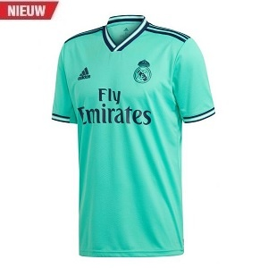 adidas real madrid 3de shirt blauw 2019-2020