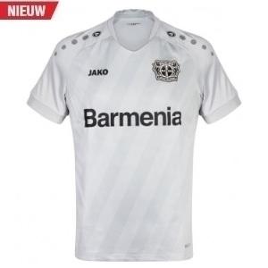bayer 04 leverkusen shirt witgrijs kids 2019-2020