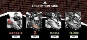 adidas encryption pack grijze voetbalschoenen 2019