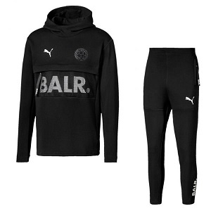 balr x puma trainingspak zwart 2019-2020