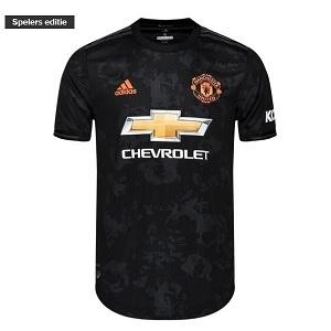 manchester united 3de europese shirt zwart 2019-20
