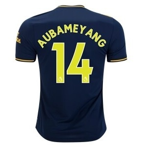 pierre-emerick aubameyang 3de arsenal shirt 2019-20