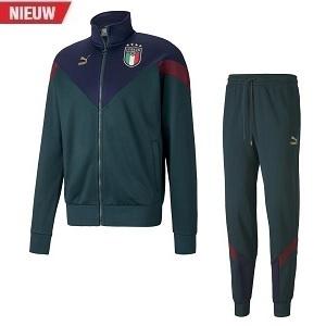 puma italie trainingspak groen 2020-2021