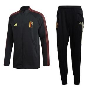 adidas belgie trainingspak zwart 2020-2021