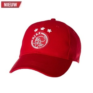ajax amsterdam cap rood met logo