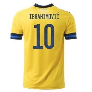 zlatan ibrahimovic zweden thuisshirt 2020-21