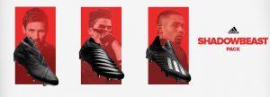 adidas shadowbeast zwarte voetbalschoenen