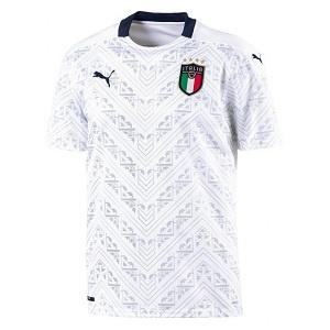 italie uitshirt wit 2020-2021