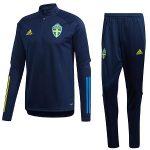adidas zweden trainingspak blauw 2020-21