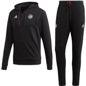 ajax sweat trainingspak zwart oud logo 2020-21