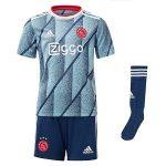 ajax uit tenue blauw 2020-2021