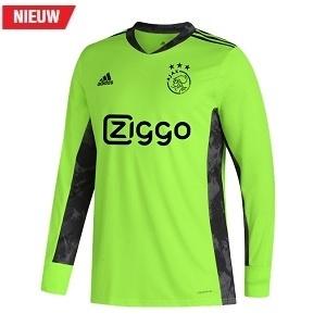 adidas ajax keepersshirt groengrijs 2020-2021