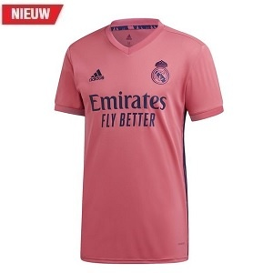 adidas real madrid roze uitshirt 2020-2021