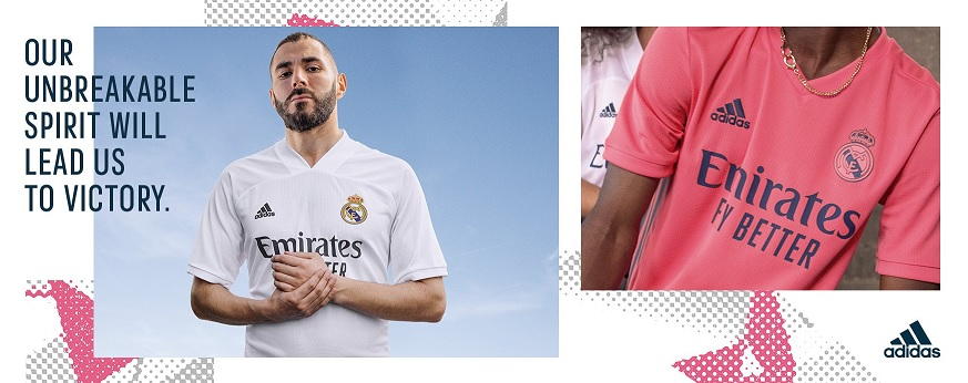 adidas real madrid voetbaltenues 2020-2021
