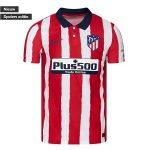 nike atletico madrid shirt thuis kraag 2020-2021