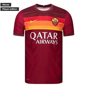 nike dri-fit as roma rood thuisshirt 2020-21