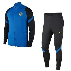 nike inter milan trainingspak blauwzwart 2020-2021