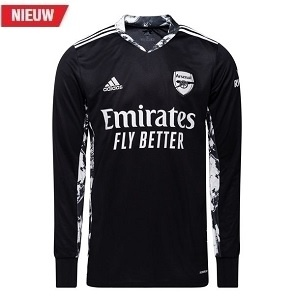adidas arsenal zwart keepersshirt 2020-2021