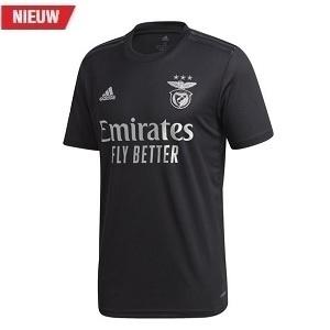 adidas benfina uitshirt zwart 2020-2021