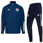 adidas olympique lyon trainingspak blauw 2020-21