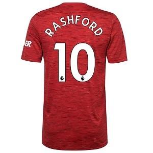 marcus rashford 10 united thuisshirt 2020-2021