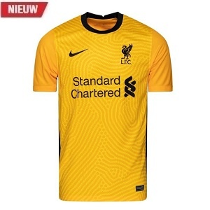 nike liverpool keepersshirt geel 2020-2021