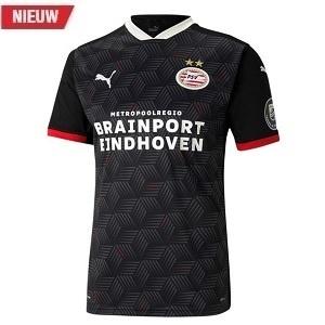 psv 3de voetbalshirt zwart 2020-2021
