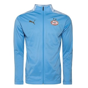 puma psv lichtblauw trainingsjack 2020-2021