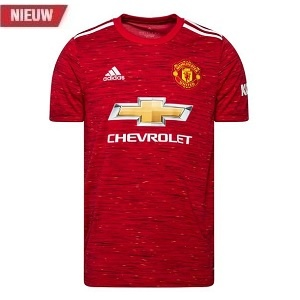 adidas manchester united shirt thuis kids 2020-21