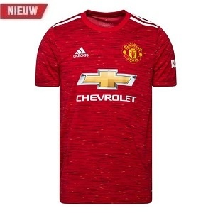 manchester united thuisshirt rood 2020-2021