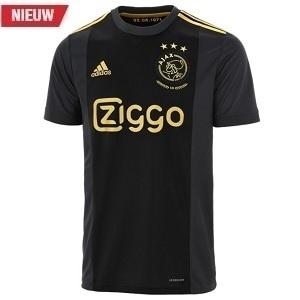 adidas ajax europees zwart shirt 2020-2021