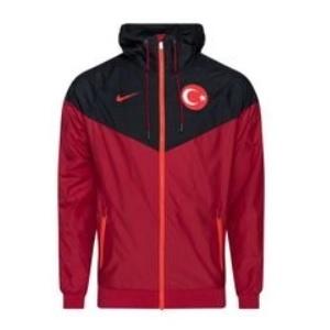 nike turkije trainingsjack rood